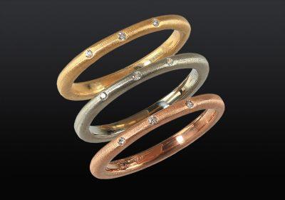 Handmade custom gemstone rings